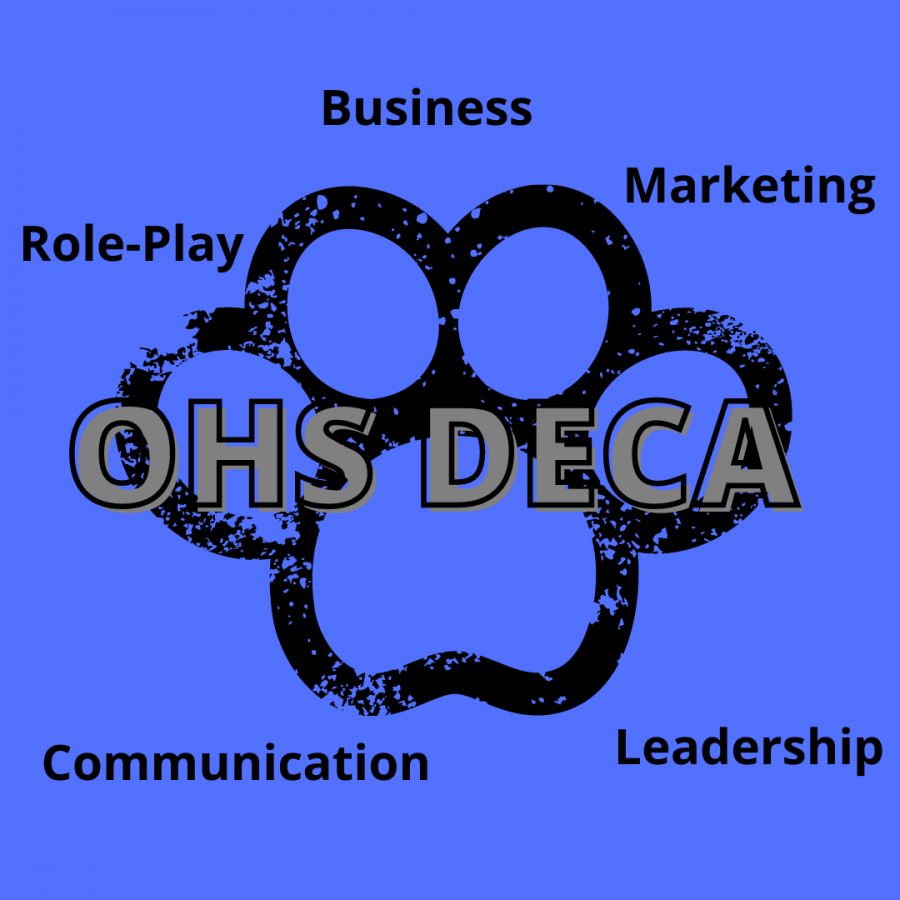 OHS DECA team ready for action!