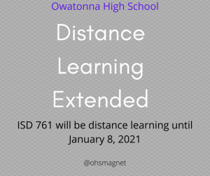 School board extends distance learning until January