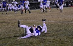 Connor Budach makes and incredible catch from his back in the end zone for this ESPN Sports Center Top Ten Play