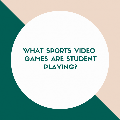 What sports video games are students playing