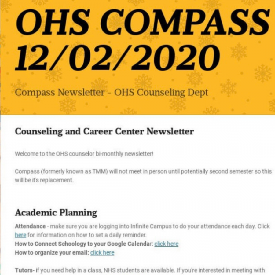 Compass helps students prepare for life after OHS
