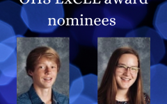 Connor Ginskey and Ava Hess were nominated for the 2020-21 Excel award.