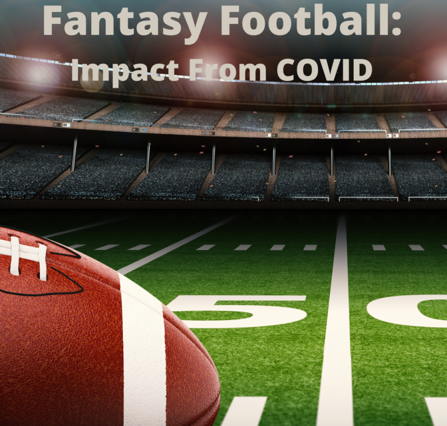 Payton Beyer explains the impact COVID has played on fantasy football in week 12 and 13.