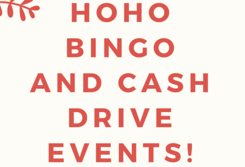 Cash Drive and HoHo Bingo are events run by the Student Council at OHS