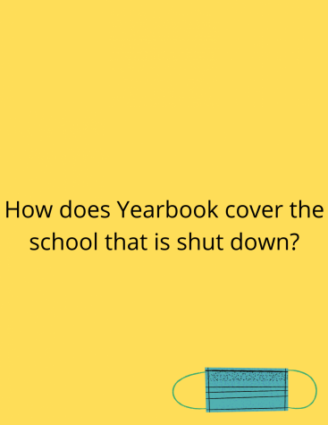 Yearbook has had to do some things differently this year to cover the school while it is shutdown.