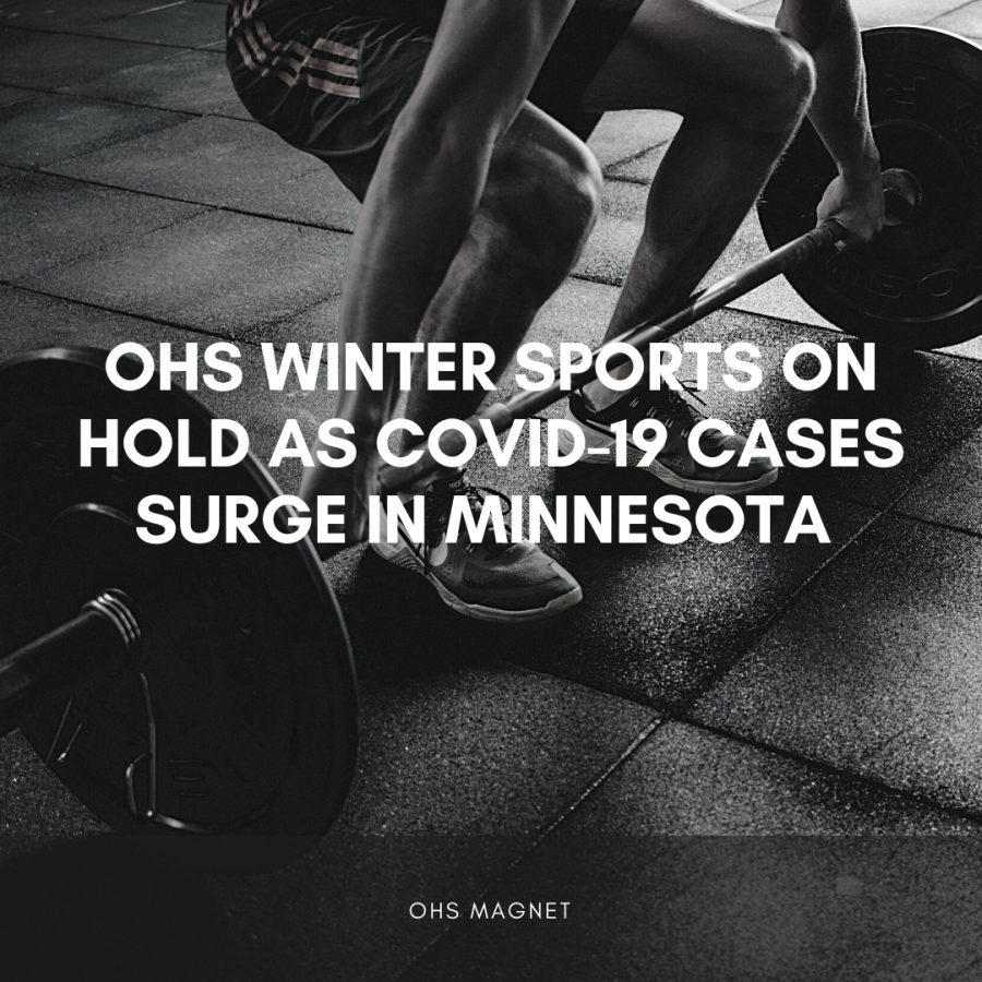 Minnesota sports on hold