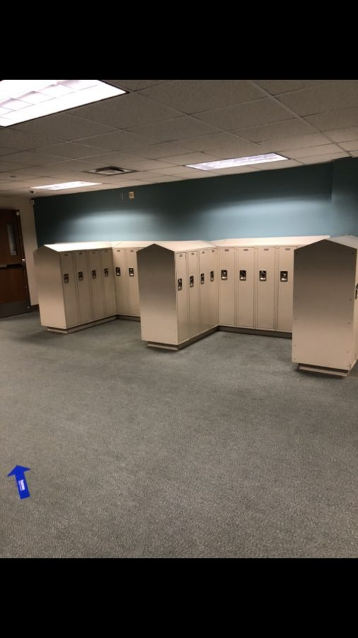 OHS C plaza lockers are available in the office.