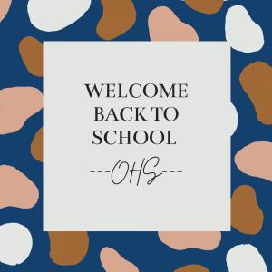 Welcome back to school Owatonna High School