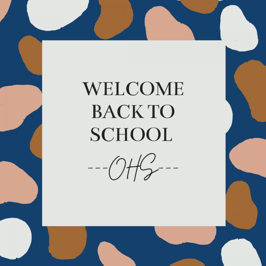 Welcome back to school Owatonna High School