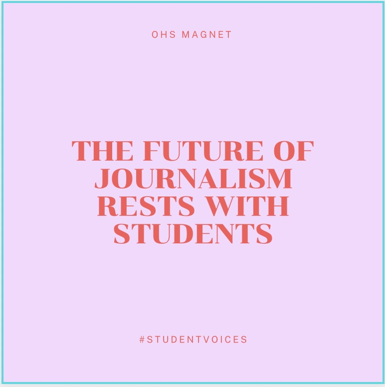 In honor of National Scholastic Journalism Week, Magnet staff looks at the responsibility of being a student journalist
