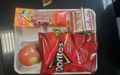Toco in a bag at school lunch