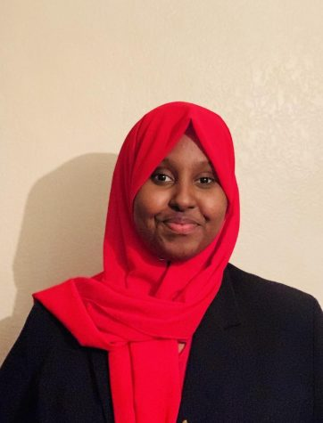 Fardouza Farah after recieving award.