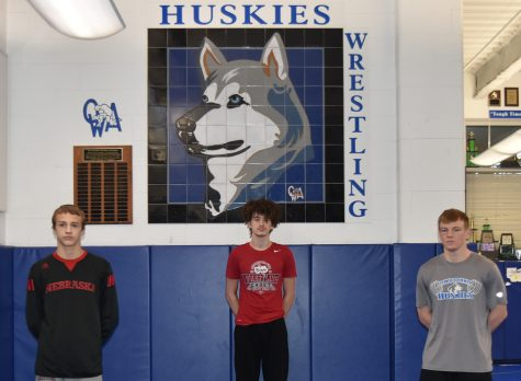 Cael Robb, Landon Johnson and Matt Seykora will represent the Huskies at the Minnesota Individual State Wrestling Tournament