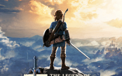 Promotional poster for The Legend of Zelda: Breath of the Wild