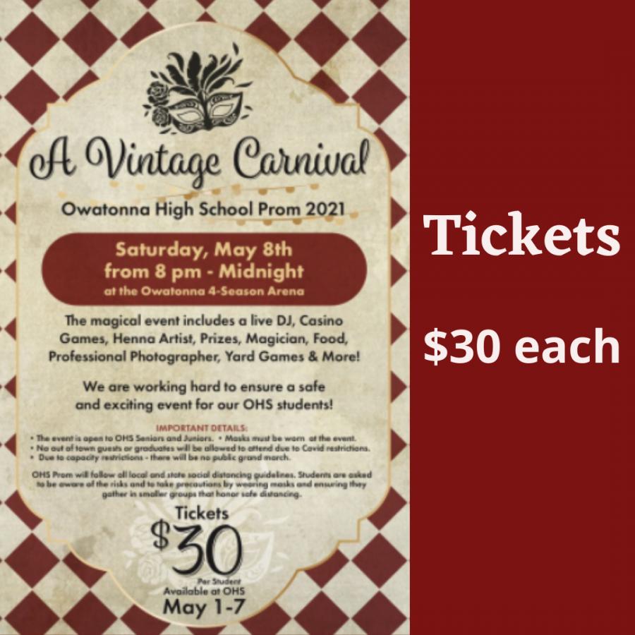 'Vintage Carnival' prom preparations underway