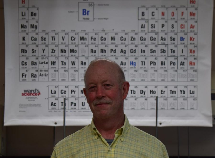 Mr. Swank retire after 34 years of teaching science.