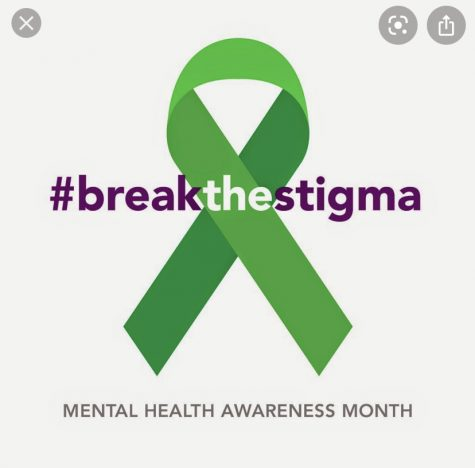 Breaking the stigma around mental health.  Source:hrcsb.org