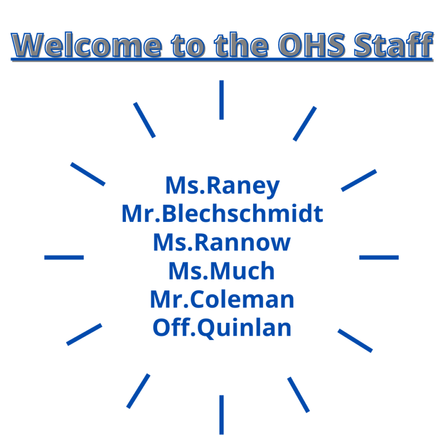 OHS welcomes new teachers