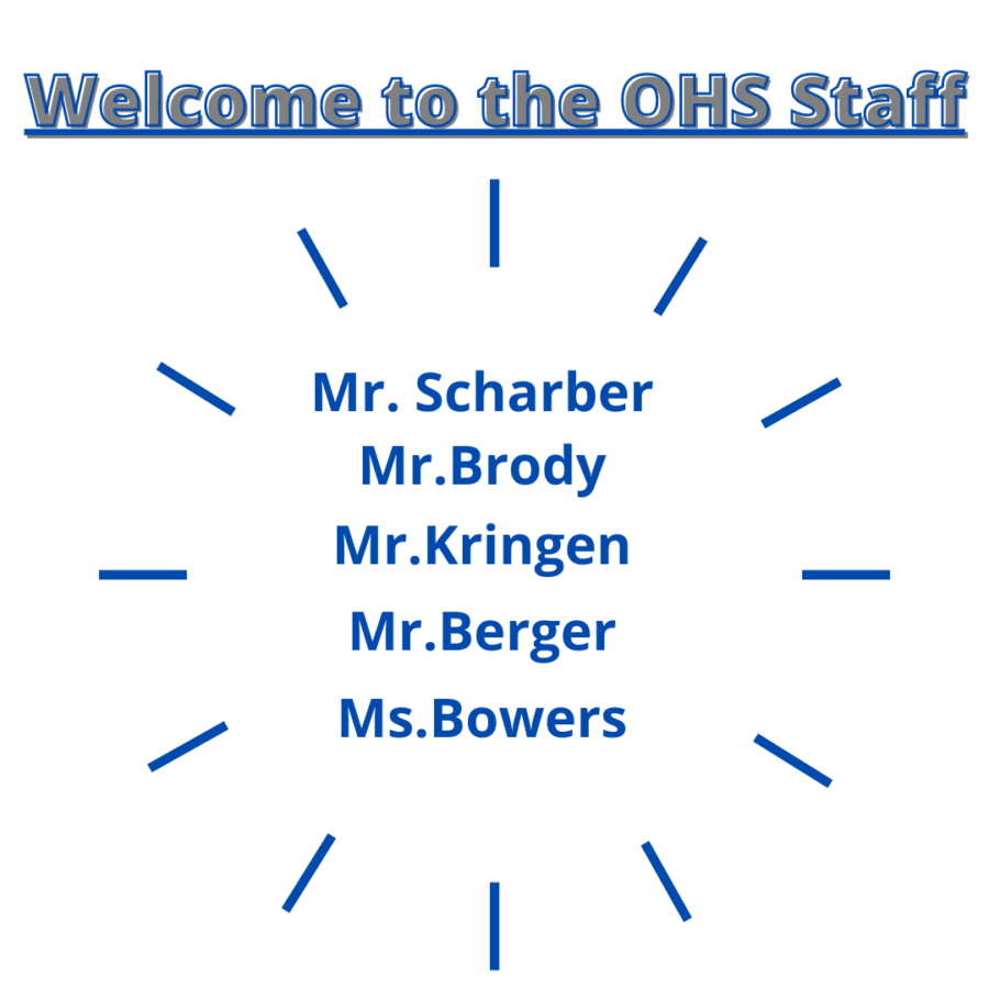 OHS+welcomes+new+teachers