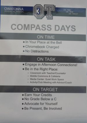 The 3OTs students should follow on Compass Days