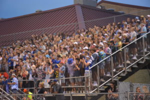 2021: OHS Student Section at the first home game