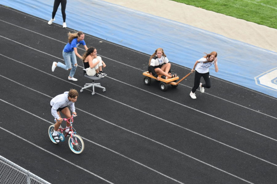 OHS fall sports teams captains racing to the finish line