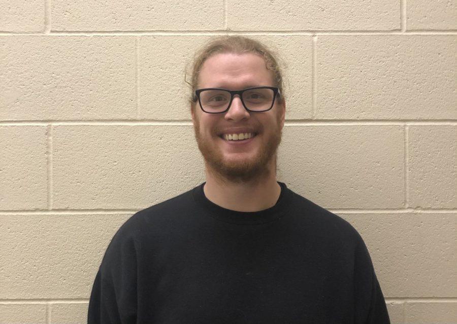Mr. Berger the new choir teacher at OHS