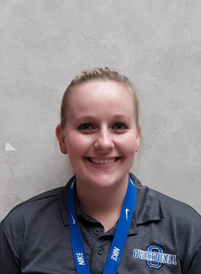 Ms. Raney is the new Health and P.E.  teacher at OHS