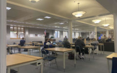 Students working productively during their study hall